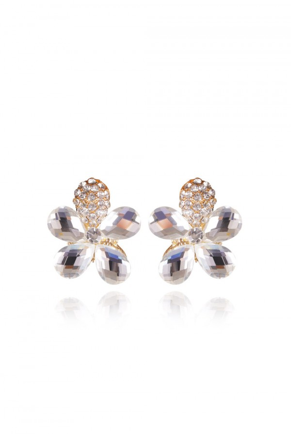 Qitarah Crystal Elegant Evening Earring