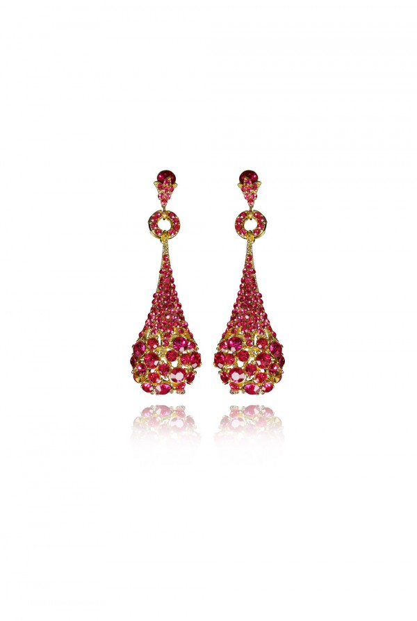Raanana Crystal Elegant Evening Earring