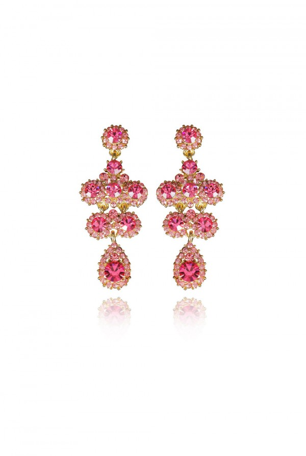 Raashida Crystal Elegant Evening Earring