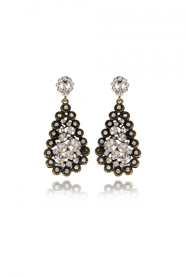 Rabi Crystal Elegant Evening Earring
