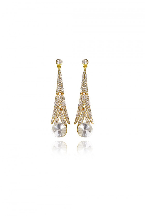 Rabiah Crystal Elegant Evening Earring