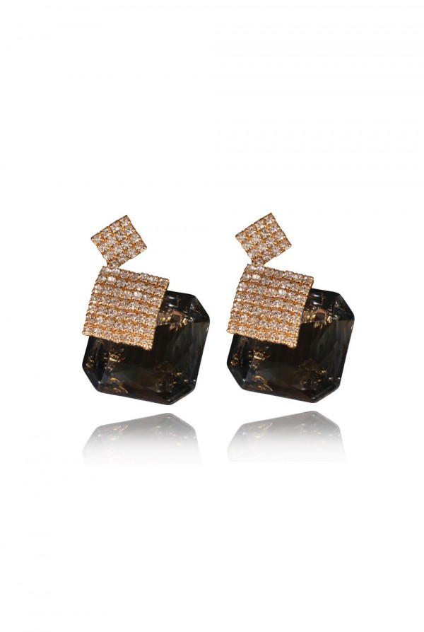 Radeyah Crystal Elegant Evening Earring