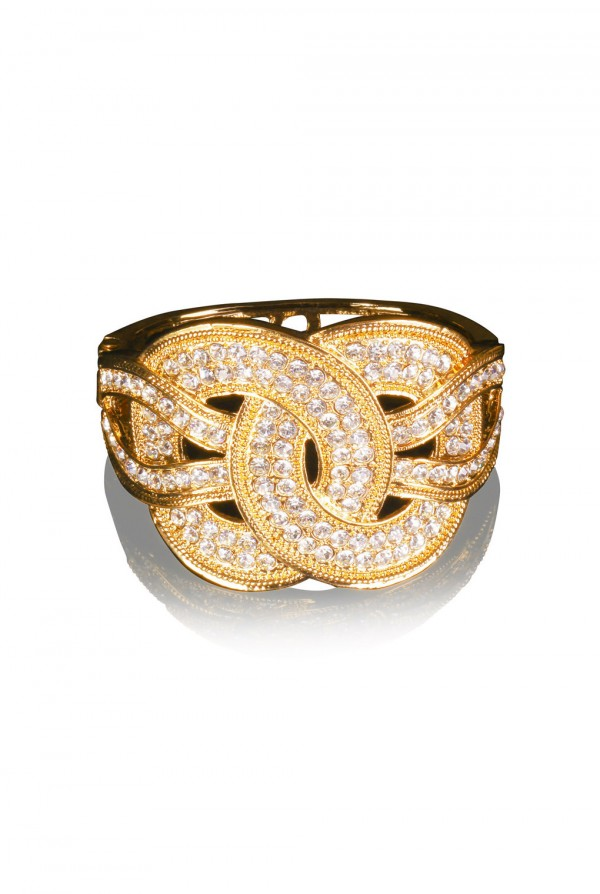 Nada Crystal Elegant Evening Bracelet
