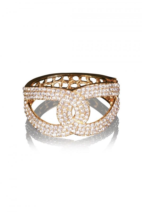 Nadeah Crystal Elegant Evening Bracelet