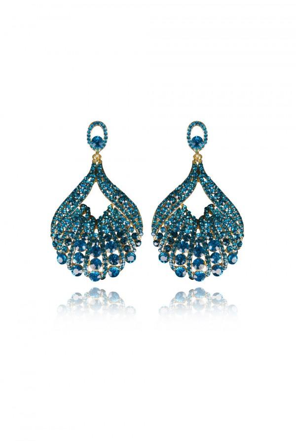Nagia Crystal Elegant Evening Earring