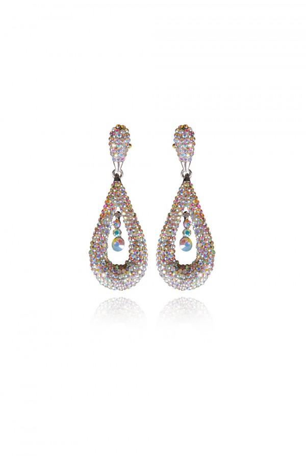 Naila Crystal Elegant Evening Earring