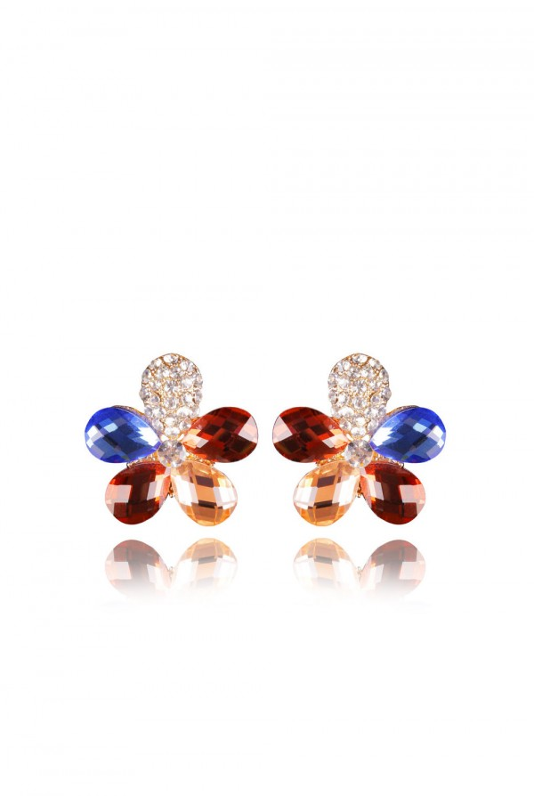 Najma Crystal Elegant Evening Earring