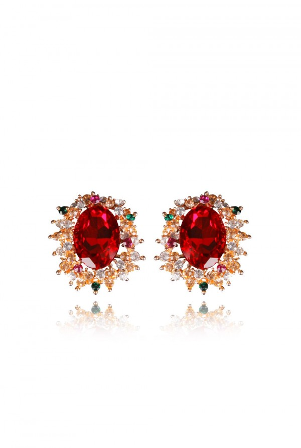 Nakia Crystal Elegant Evening Earring