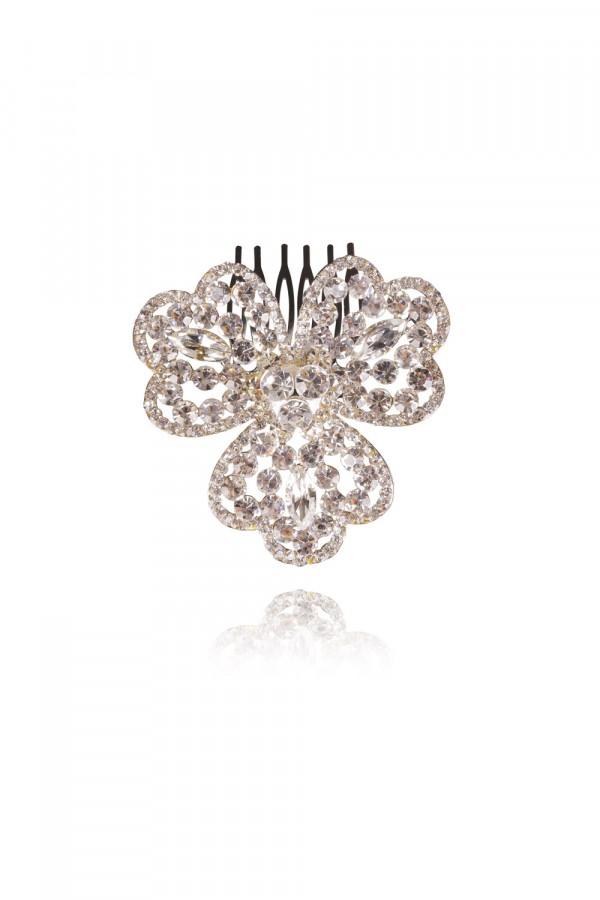 Khayla Crystal Elegant Evening Headpiece