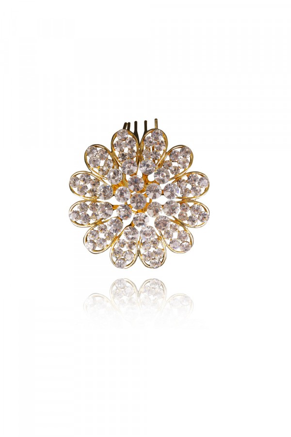 Latifah Crystal Elegant Evening Headpiece