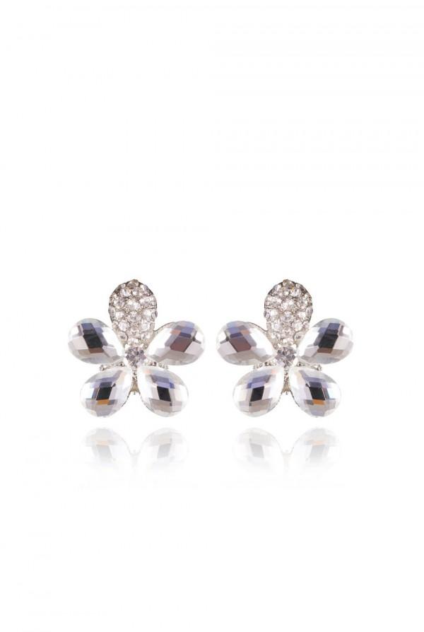 Qodra Crystal Elegant Evening Earring