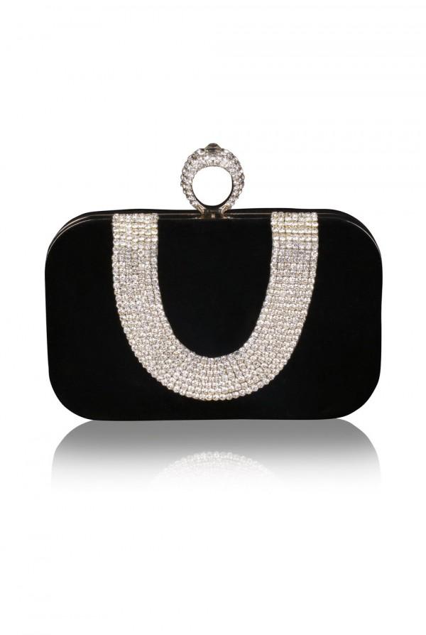 Lulu Crystal Elegant Evening Bag