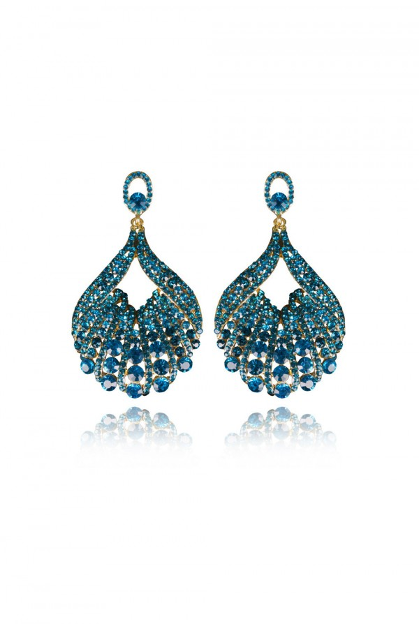 Nagia Crystal Elegant Evening Earring