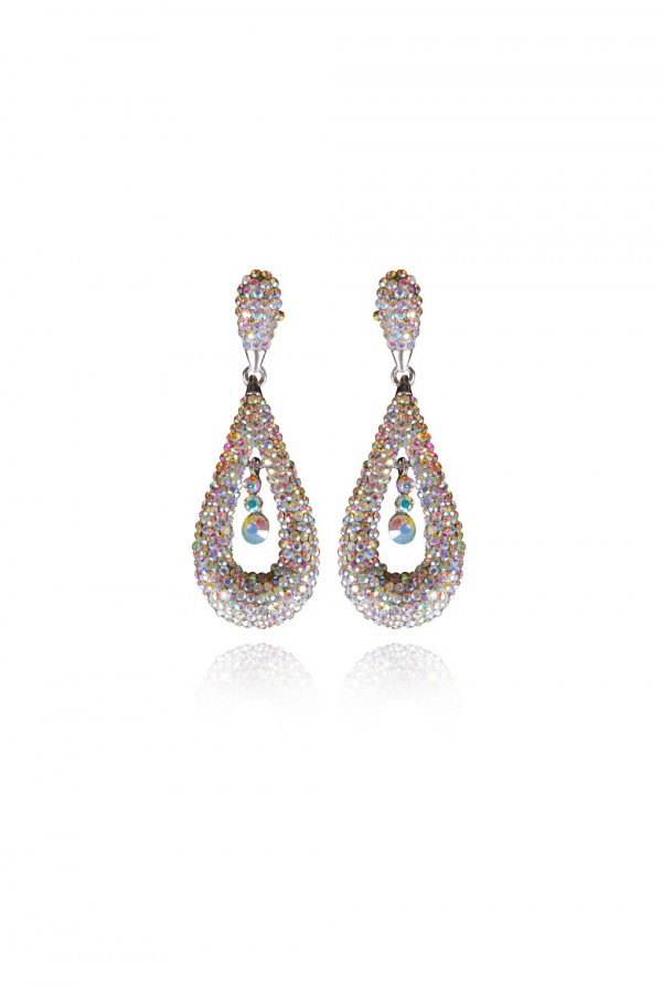 Naila Crystal Elegant Evening Earring
