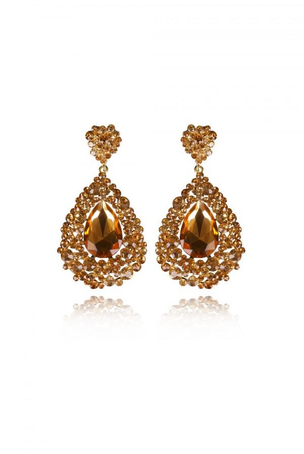 Naima Crystal Elegant Evening Earring