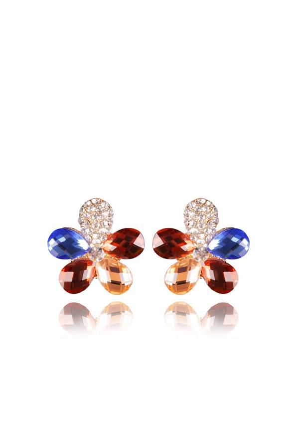 Najma Crystal Elegant Evening Earring