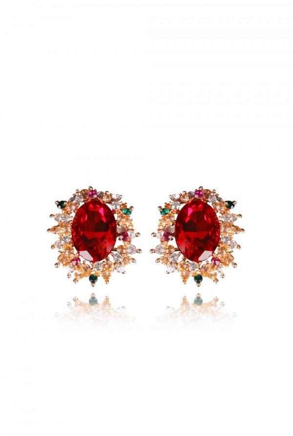 Nakia Crystal Elegant Evening Earring