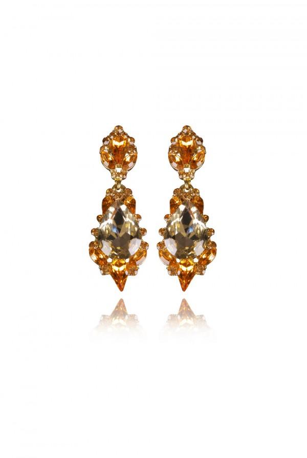 Nazihah Crystal Elegant Evening Earring
