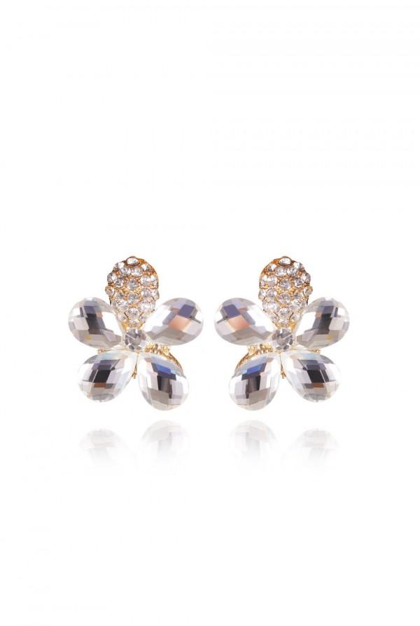 Qitarah Crystal Elegant Evening Earring