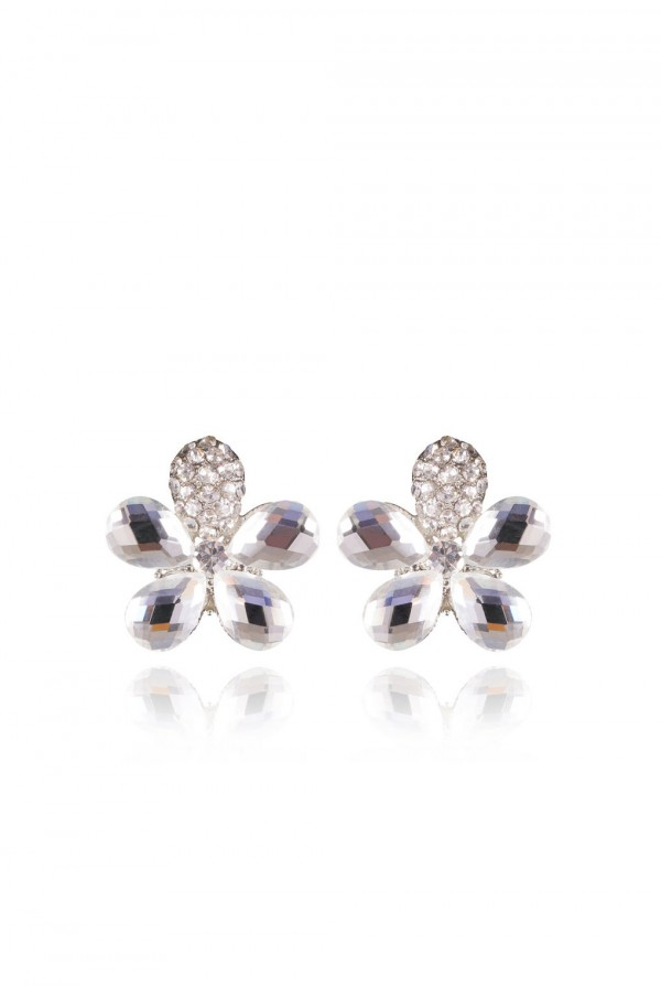 Qodra Crystal Elegant Evening Earring
