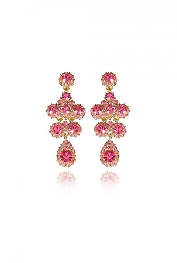 Raashida Crystal Elegant Evening Earring