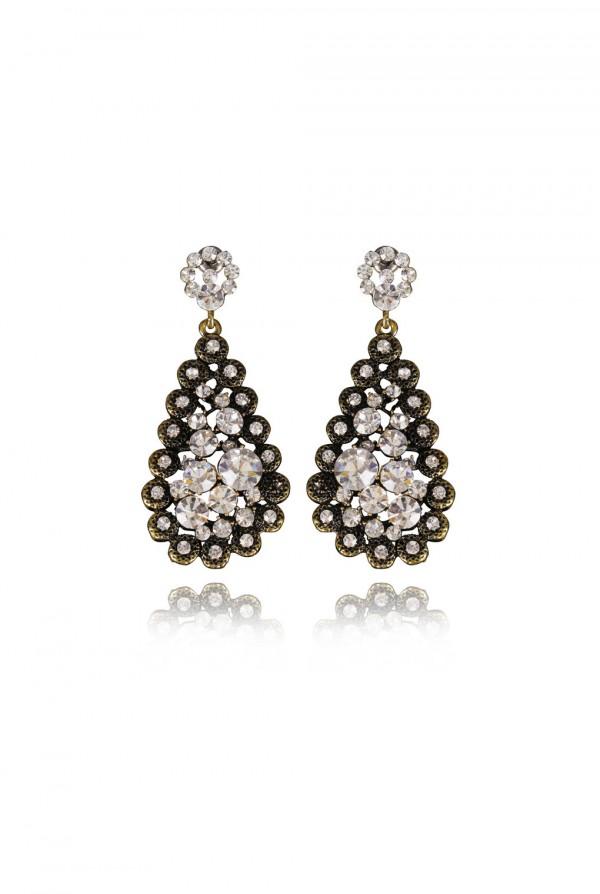 Rabi Crystal Elegant Evening Earring