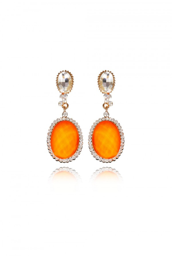 Raidah Crystal Elegant Evening Earring