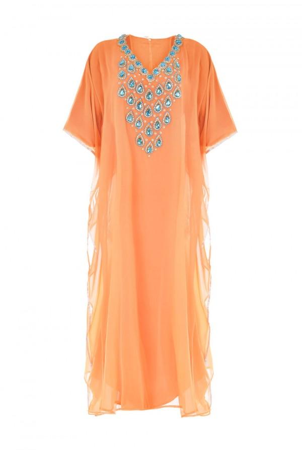 Nadia Dubai Kaftan Dress