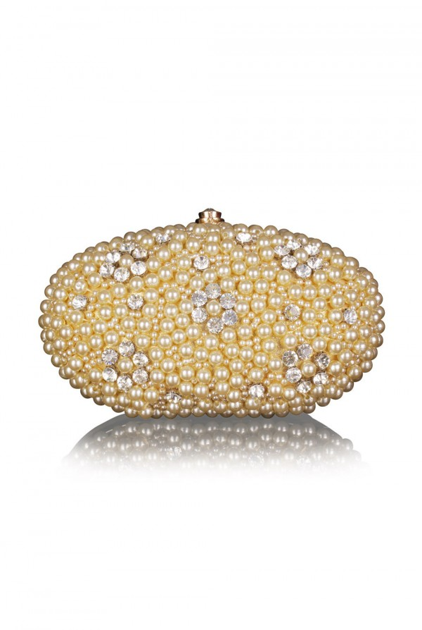 Malika Crystal Elegant Evening Bag