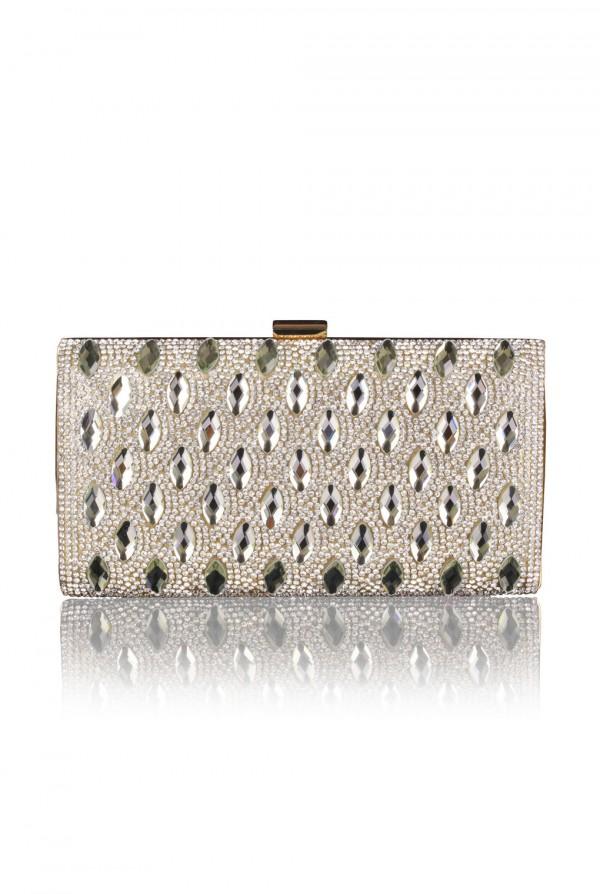 Mouna Crystal Elegant Evening Bag