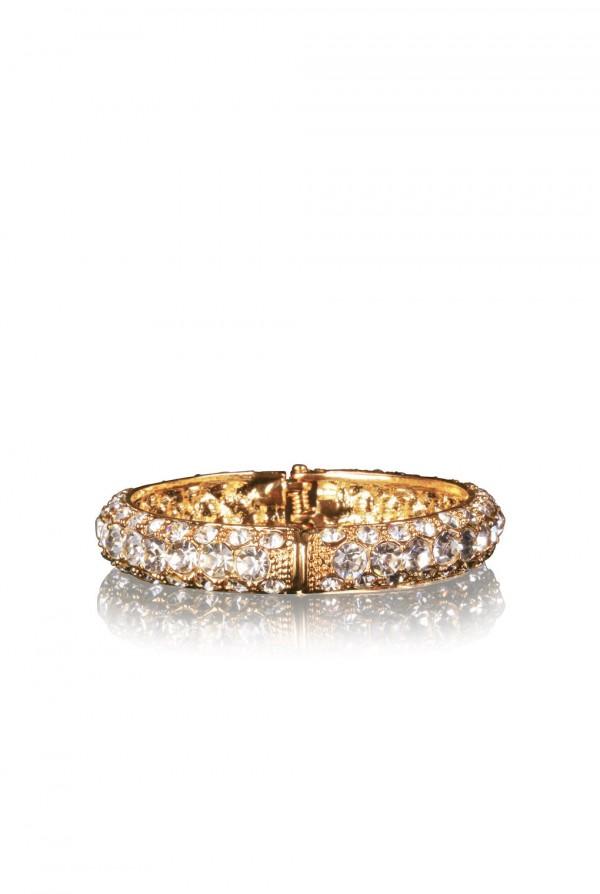 Nadima Crystal Elegant Evening Bracelet