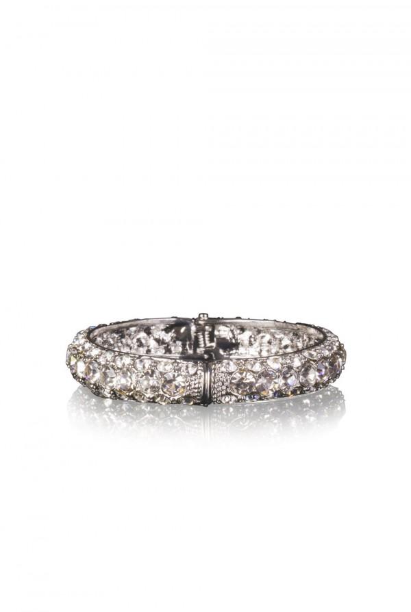 Nafisa Crystal Elegant Evening Bracelet