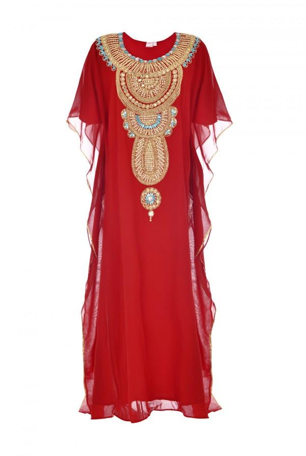 Rihana Dubai Kaftan Dress