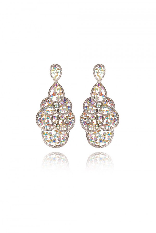 Nailah Crystal Elegant Evening Earring