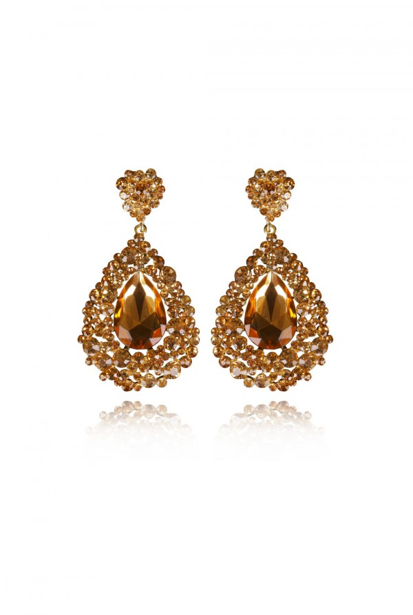 Naima Crystal Elegant Evening Earring