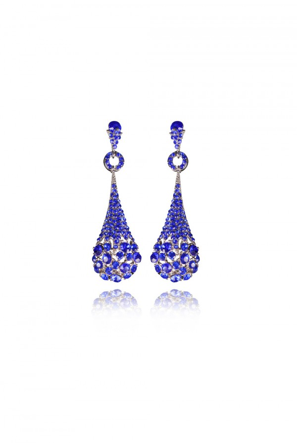 Nakiya Crystal Elegant Evening Earring