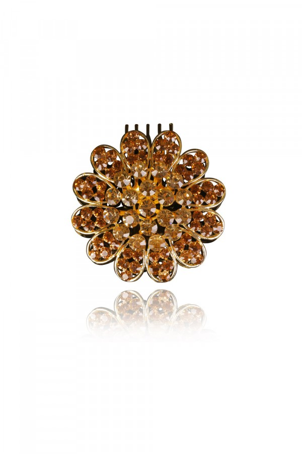 Laila Crystal Elegant Evening Headpiece
