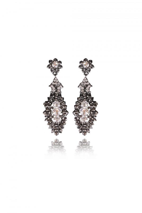 Polla Crystal Elegant Evening Earring