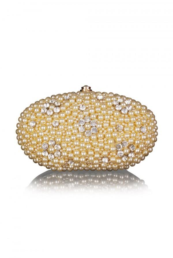 Malika Crystal Elegant Evening Bag