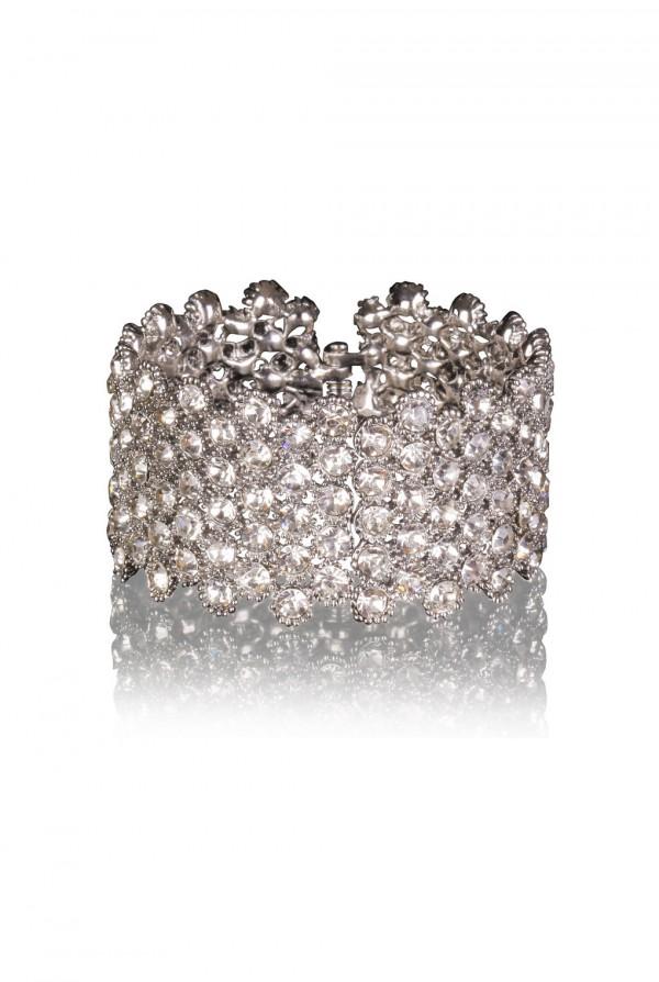 Nabiha Crystal Elegant Evening Bracelet