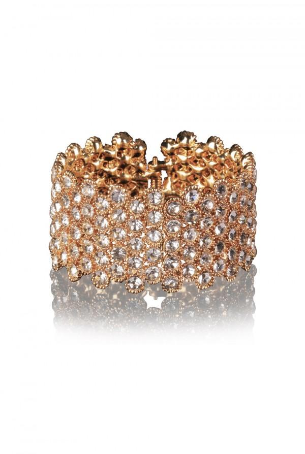 Nabila Crystal Elegant Evening Bracelet
