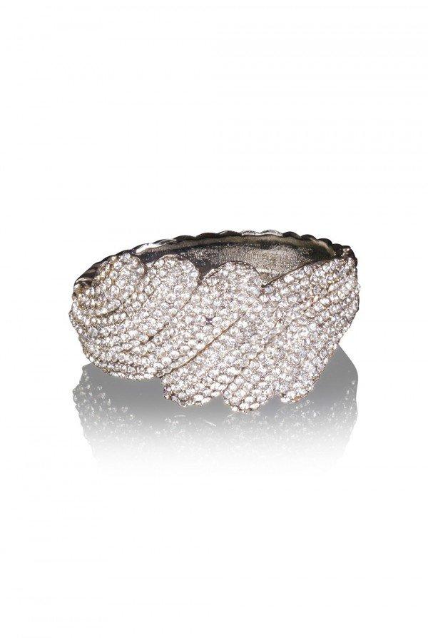 Nadda Crystal Elegant Evening Bracelet