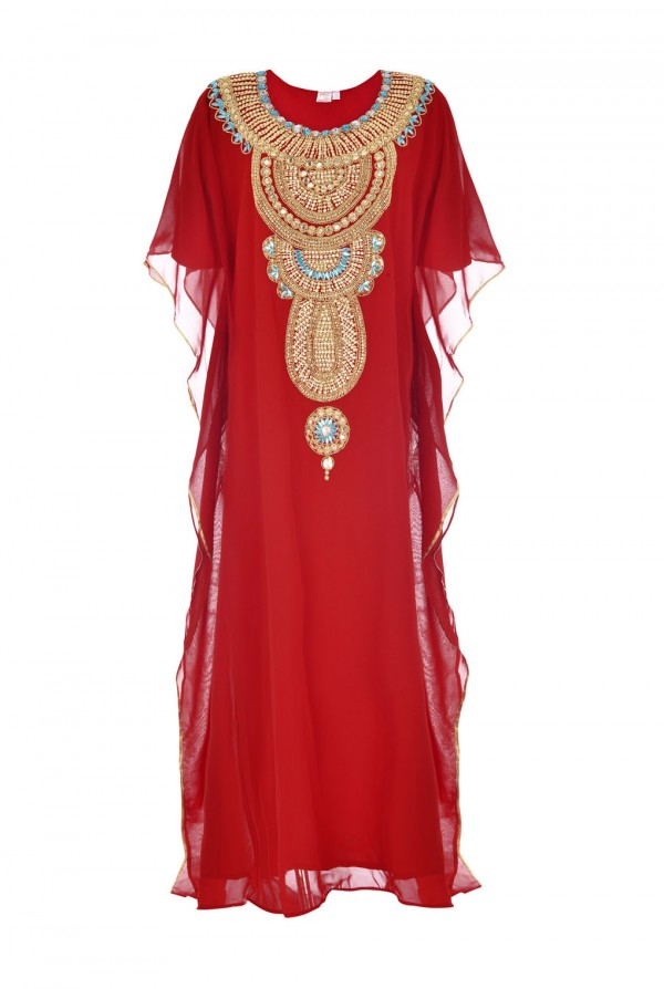 Rihana Dubai Kaftan Dress