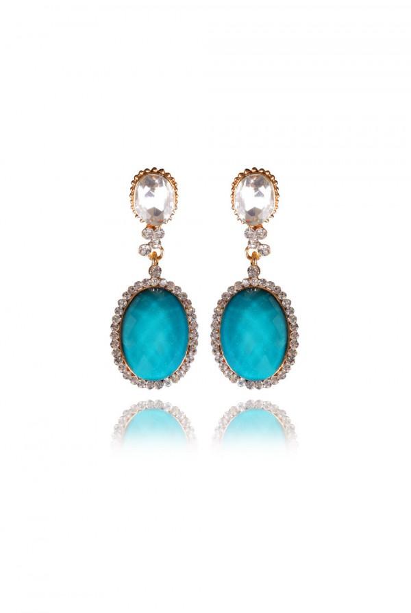 Naja Crystal Elegant Evening Earring