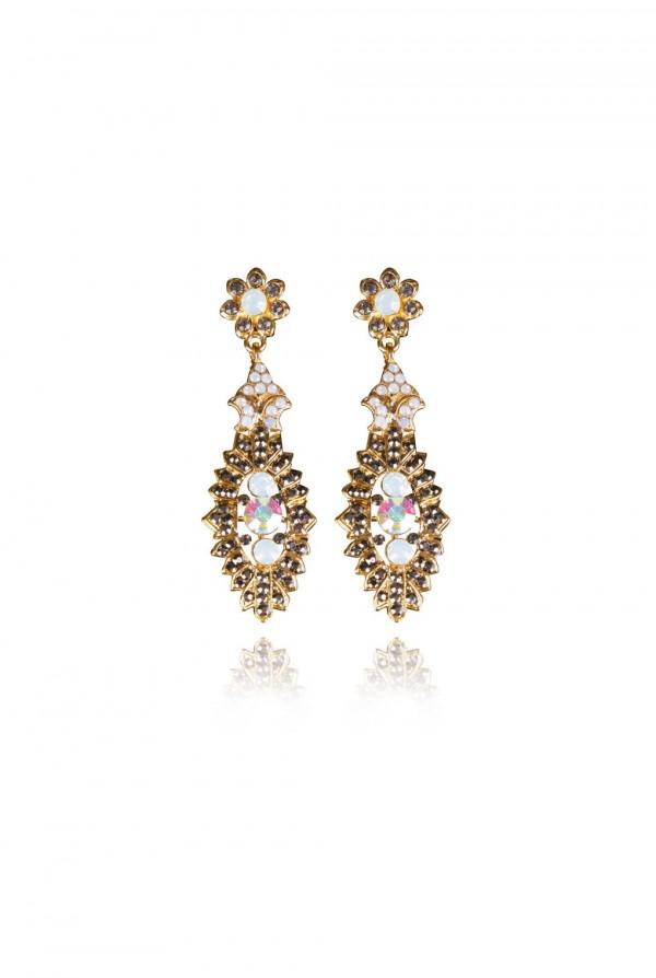 Najla Crystal Elegant Evening Earring