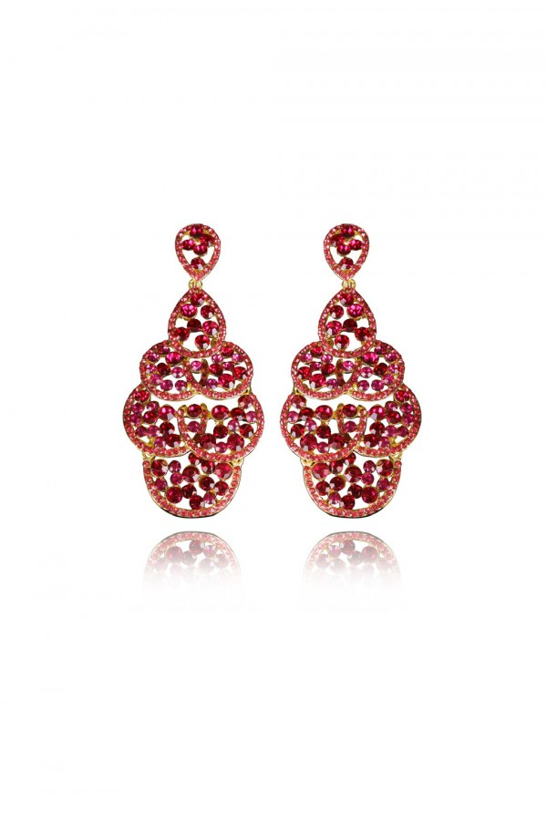 Natara Crystal Elegant Evening Earring