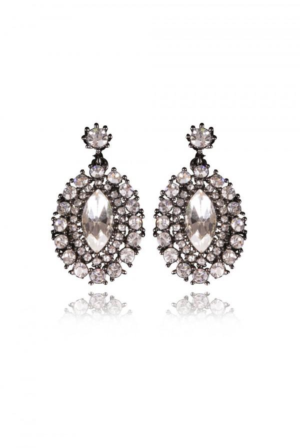 Nikia Crystal Elegant Evening Earring