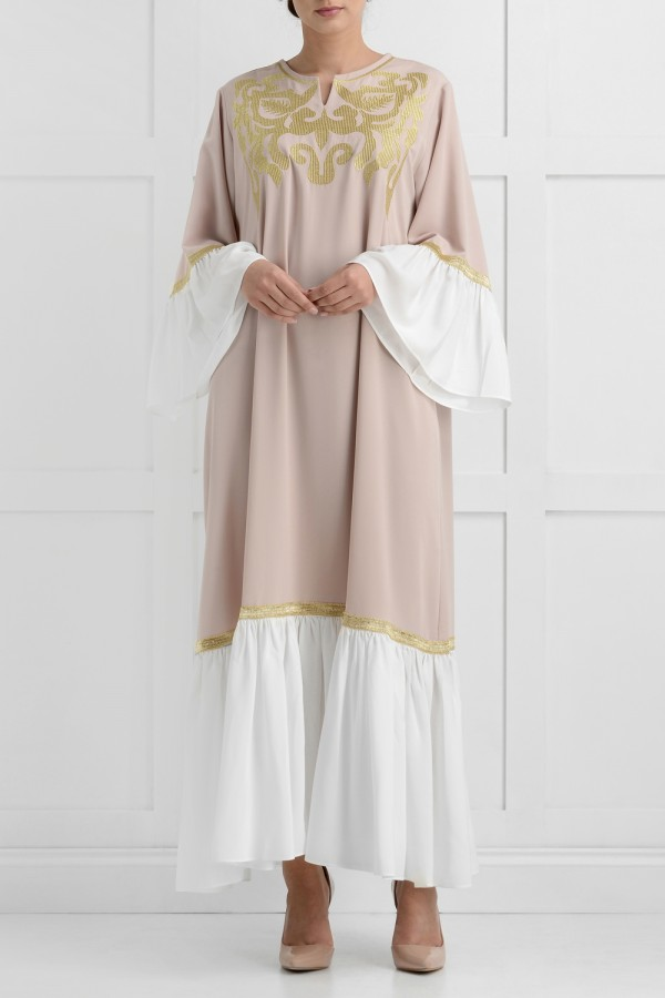 Fareeda Luxury Dress Abaya